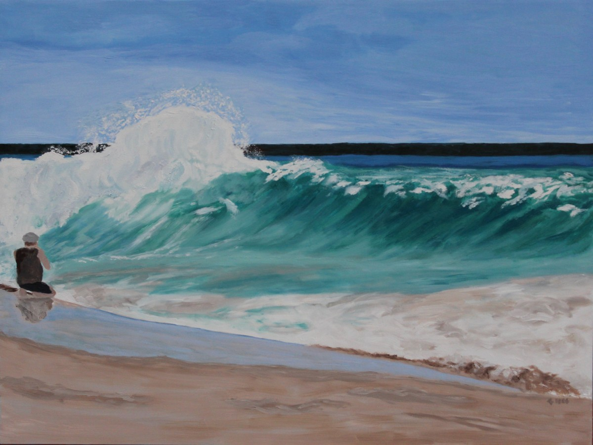 The Wave by Glenda King