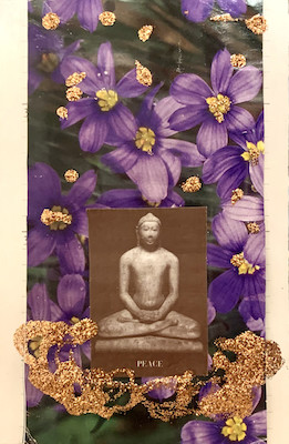 Peace Buddha by Sherri Silverman