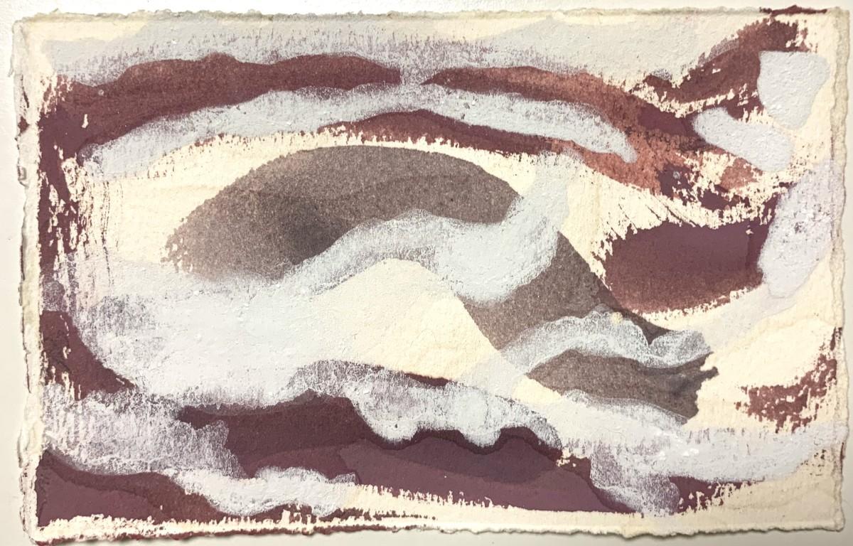 Purple Mountains, White Fog by Sherri Silverman