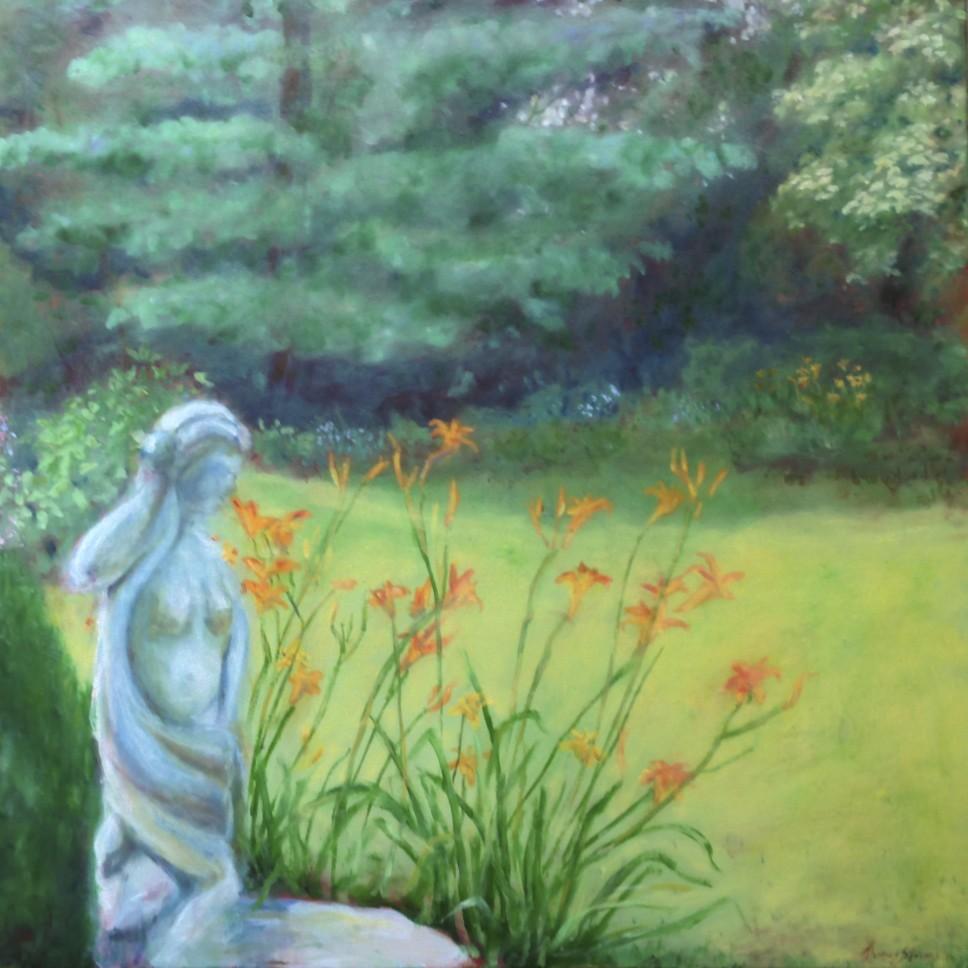 Backyard by Thomas Stevens