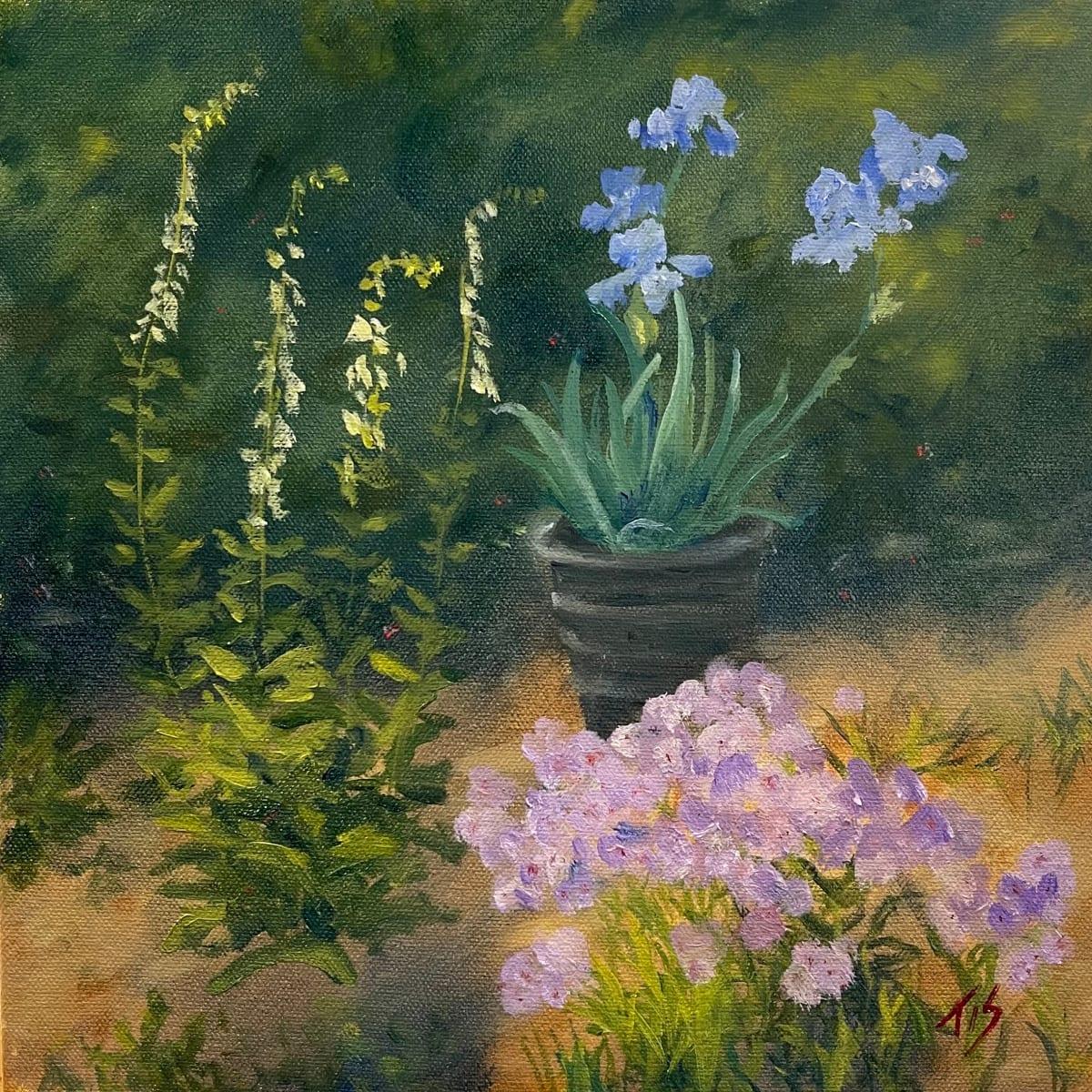 Blue Iris by Thomas Stevens