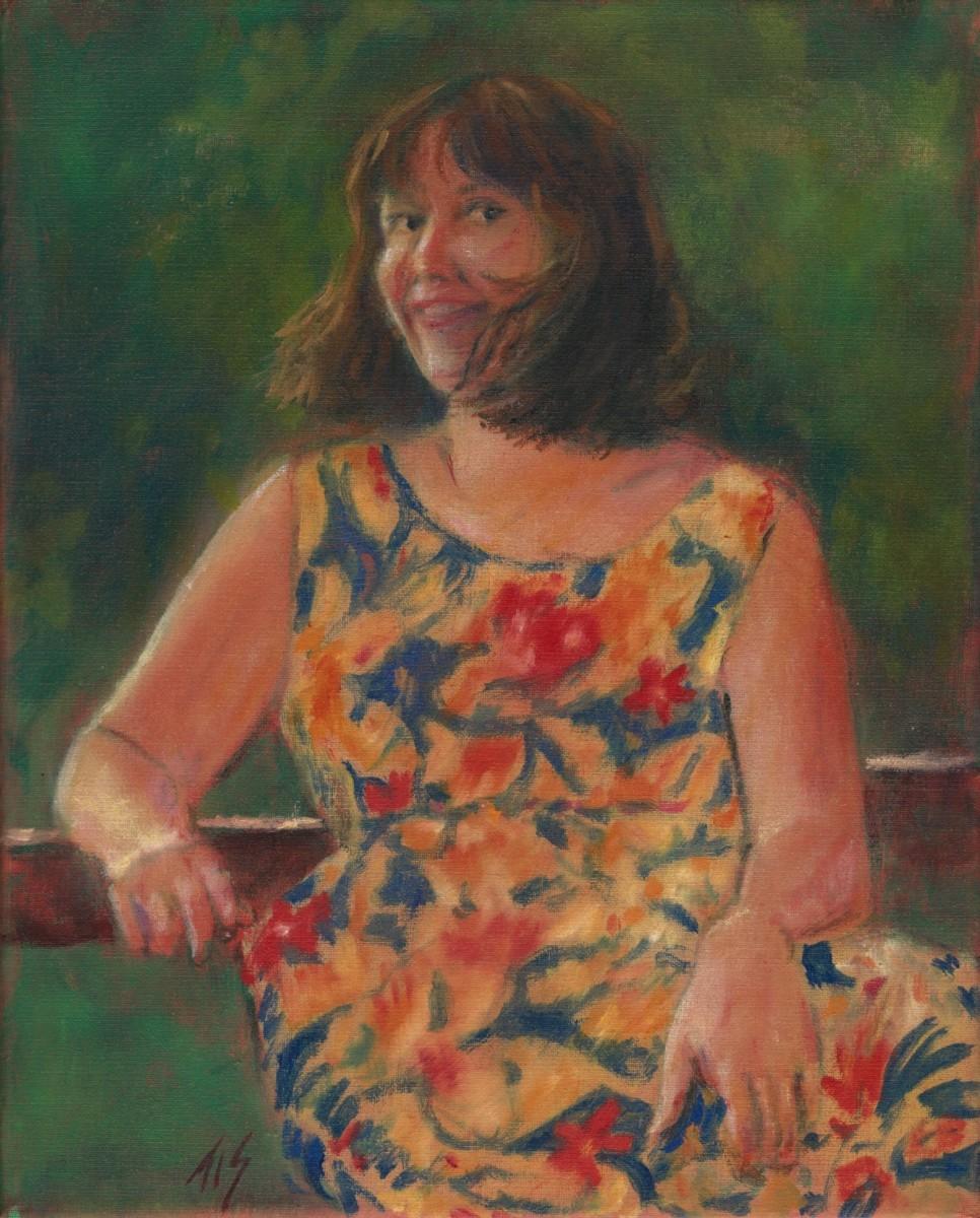 Debbie In Hawaii by Thomas Stevens