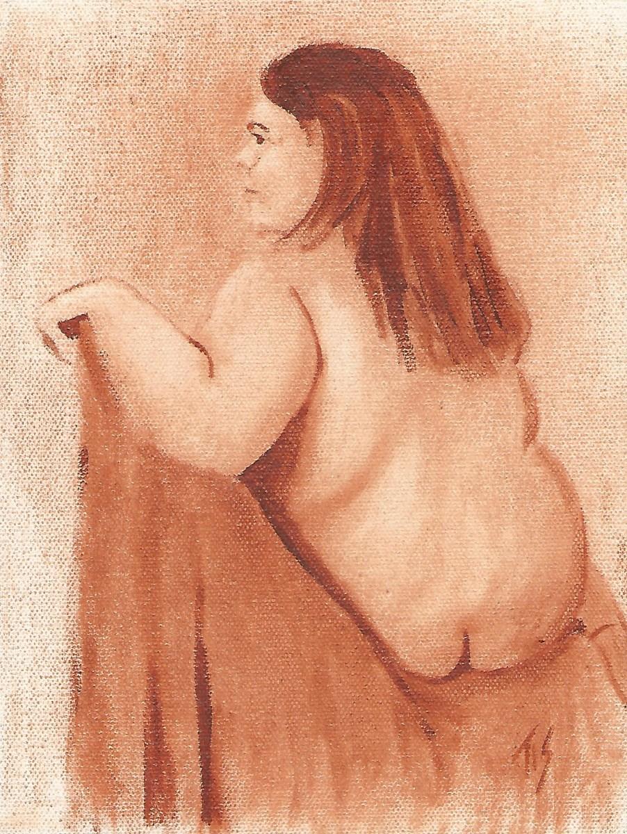 Nude (monochrome) by Thomas Stevens