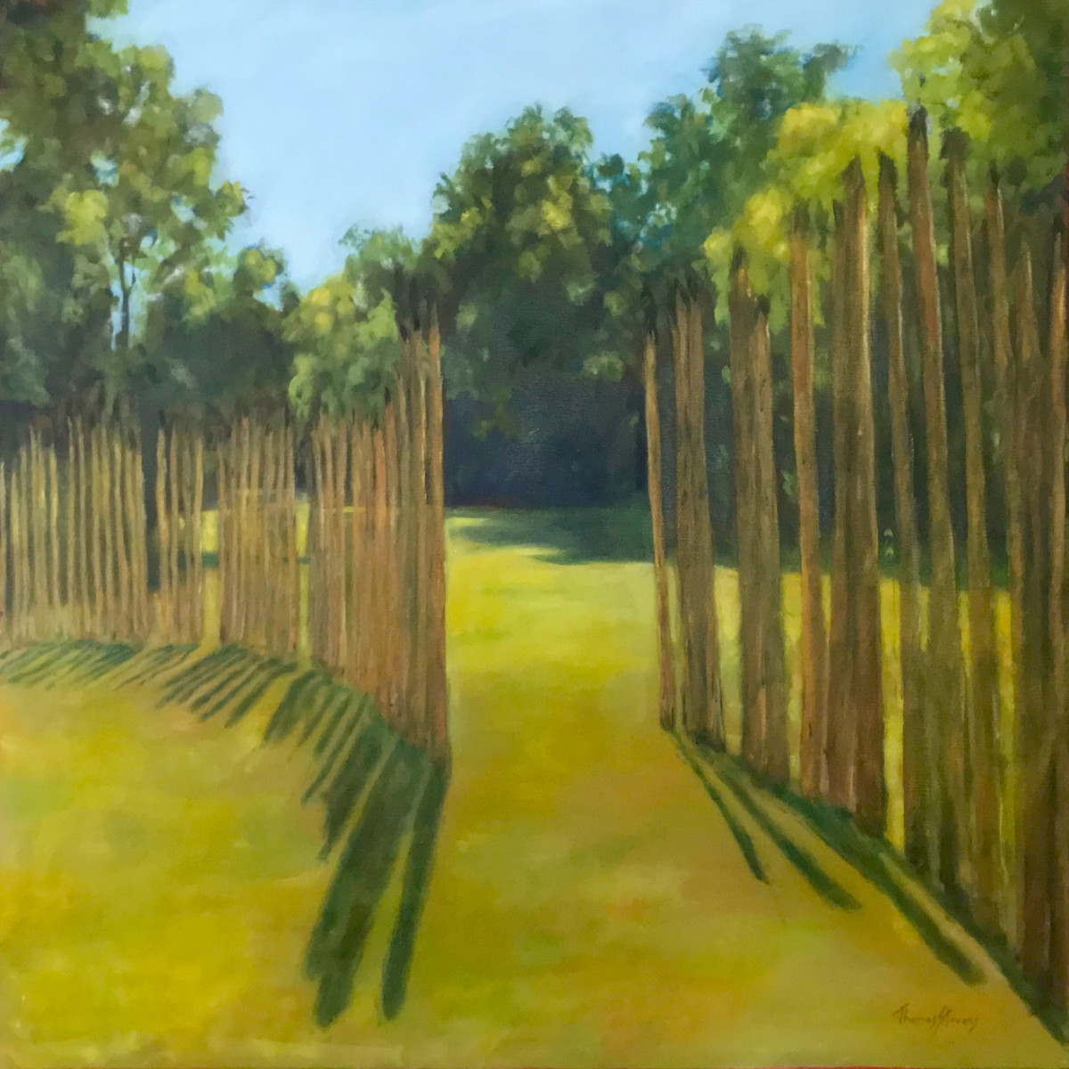 Sun Gate   (Occaneechi series - 36.072186N 79.097939W) by Thomas Stevens