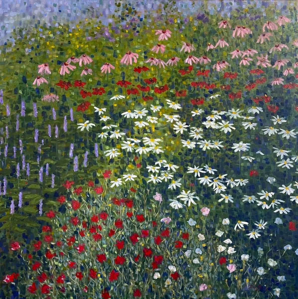 King Street Pollinator Garden  36.07546N 79.09972W by Thomas Stevens