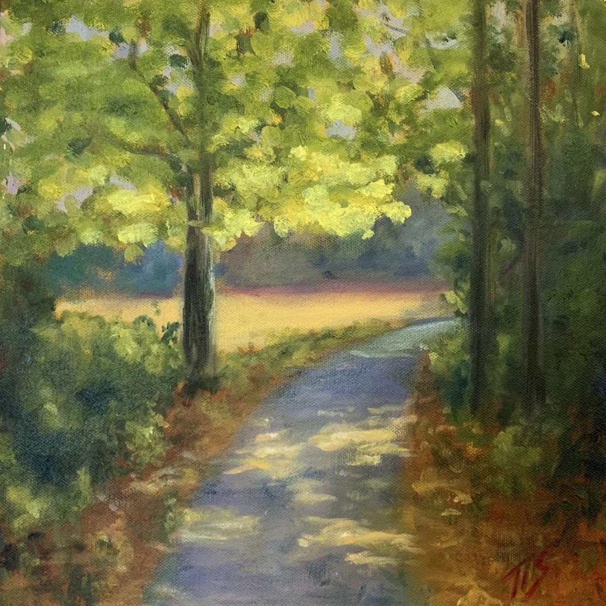Riverwalk Tree (study) 36.071392N 79.093553W by Thomas Stevens
