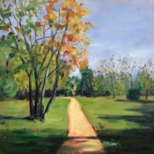 Poet's Walk October  36.07793N  79.08642W by Thomas Stevens