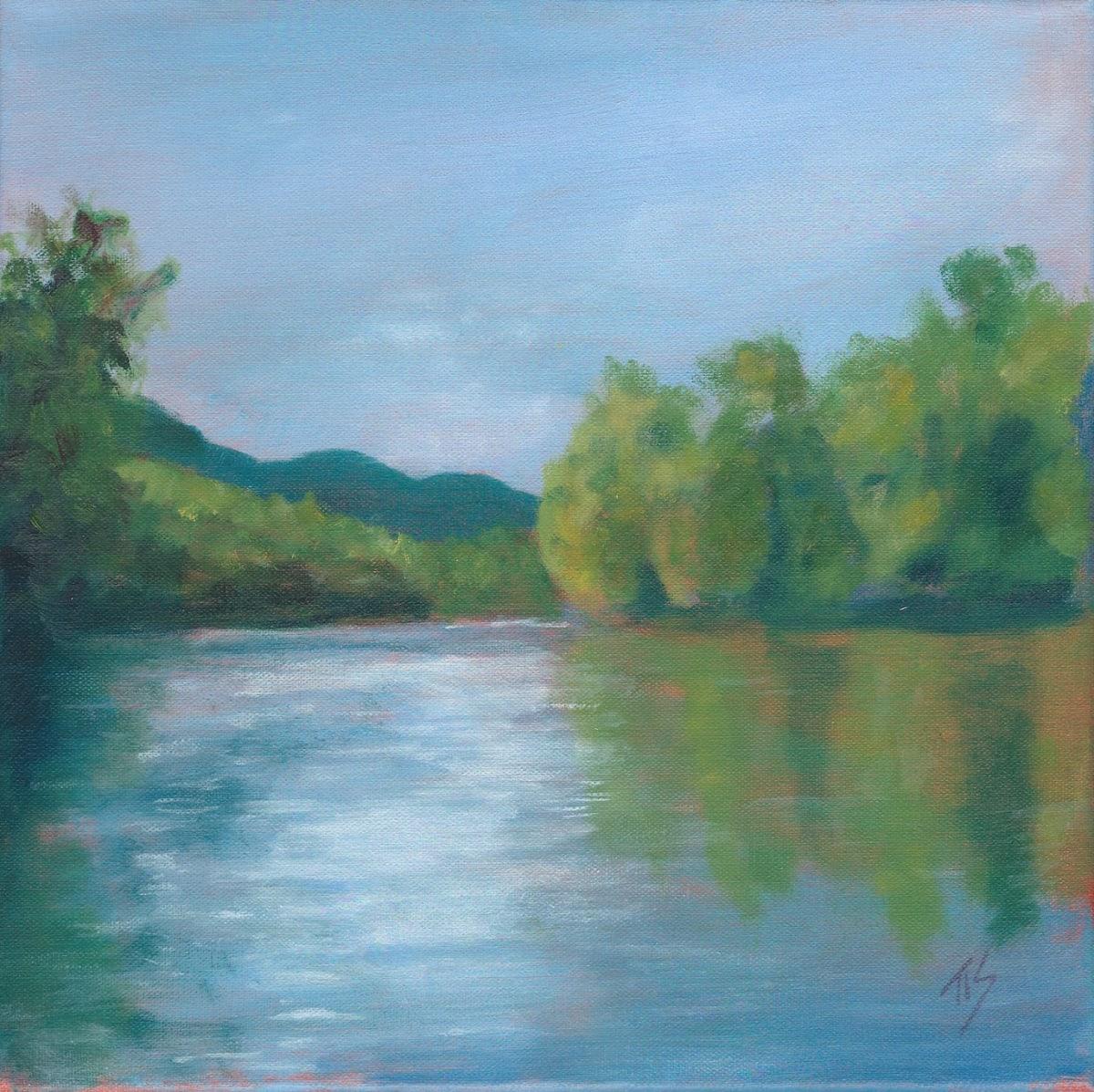 James River View IV by Thomas Stevens