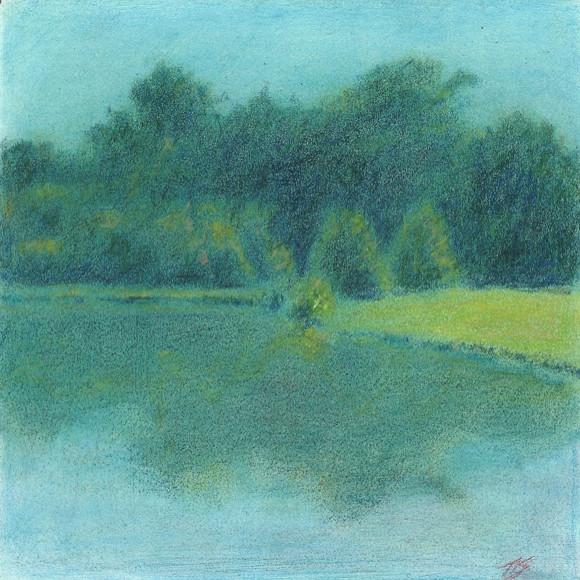 Meadowlands Pond by Thomas Stevens