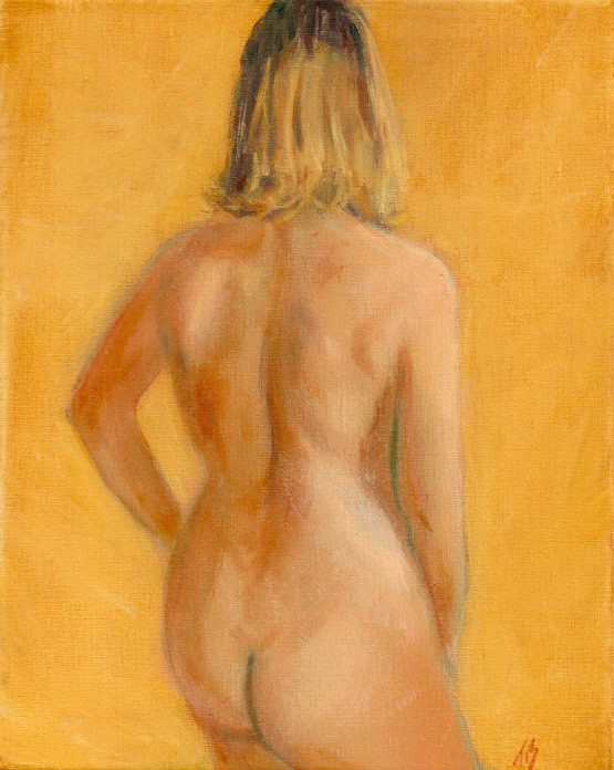 Nude (golden) by Thomas Stevens