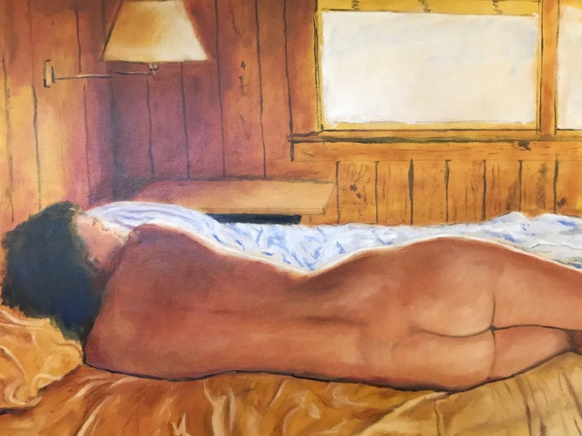 Sixty Eight (Morning at Becky Ann Beach Cabin) by Thomas Stevens