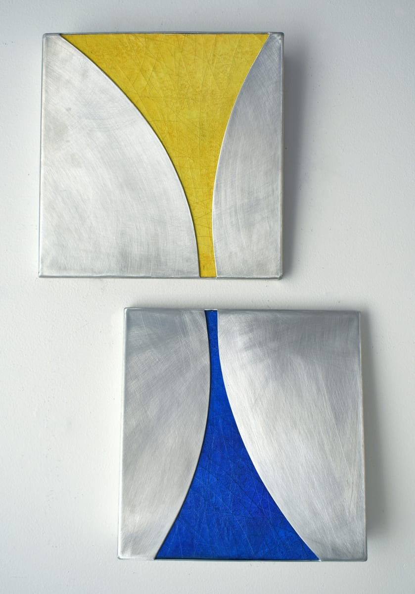 Conic Sections (diptych) by KX2