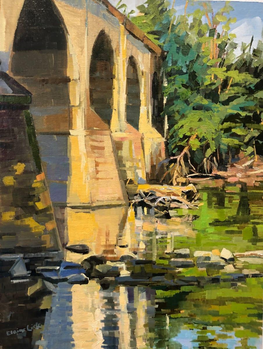 Bridge near Lock60 by Elaine Lisle