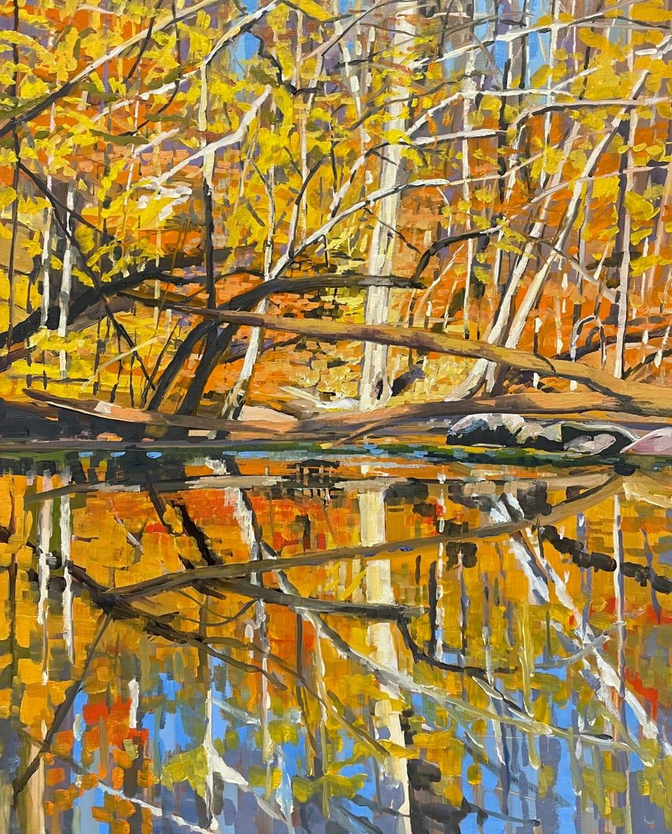 Foliage Riot by Elaine Lisle