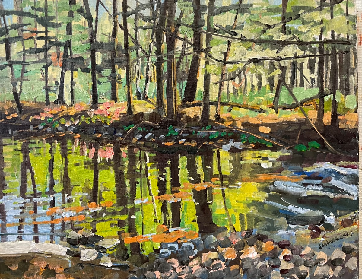 Swamp Spring by Elaine Lisle