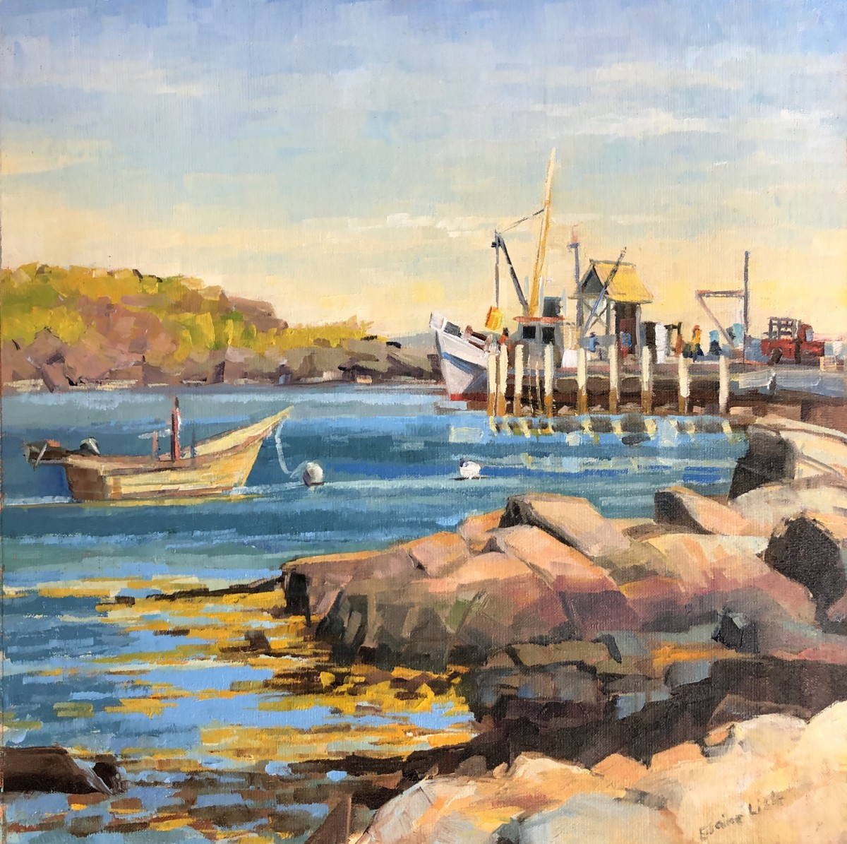 Loading Dock by Elaine Lisle