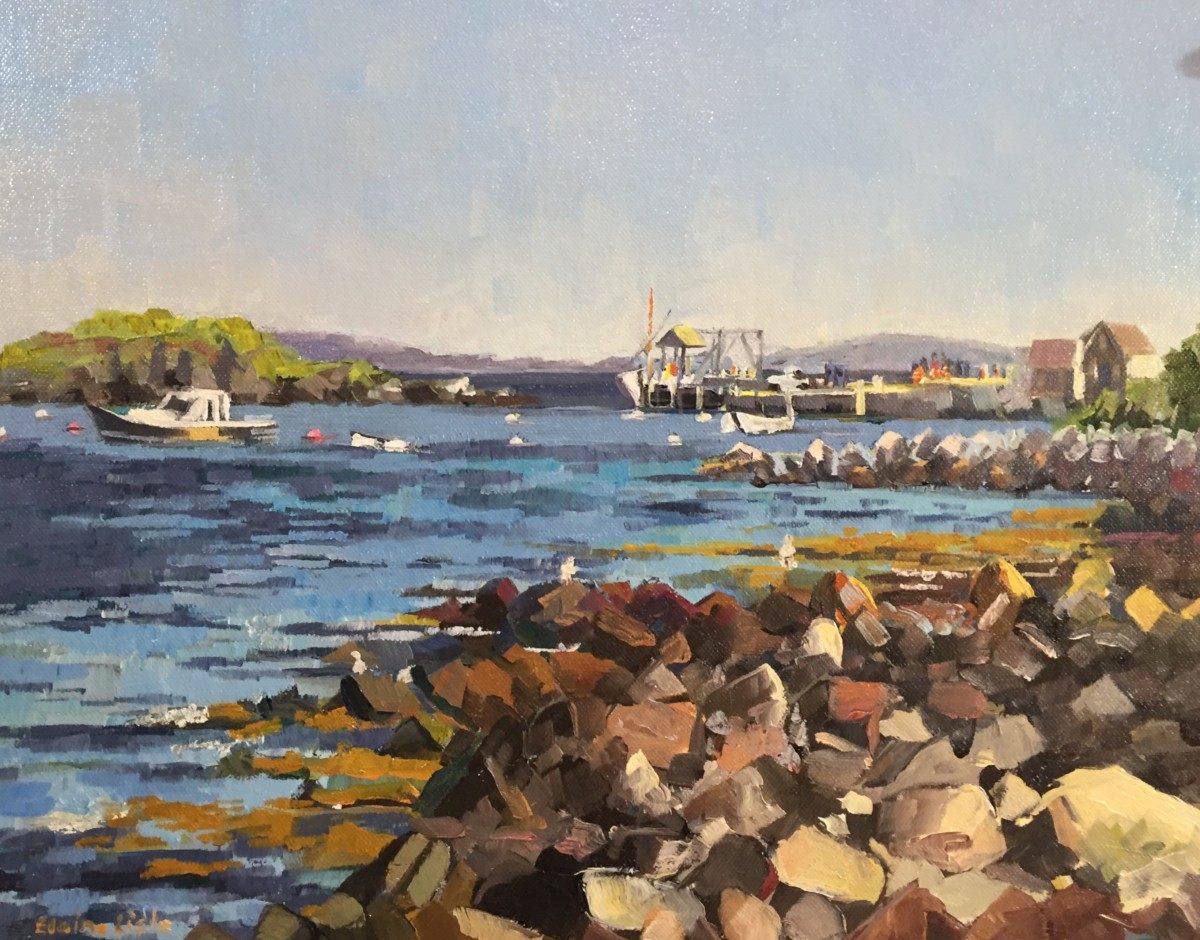 Almost Ferry Depart by Elaine Lisle
