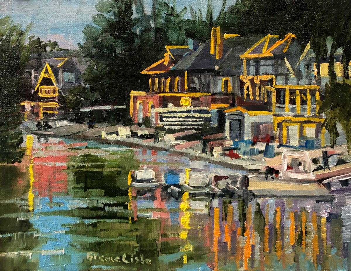 Putting the Boats to Bed by Elaine Lisle
