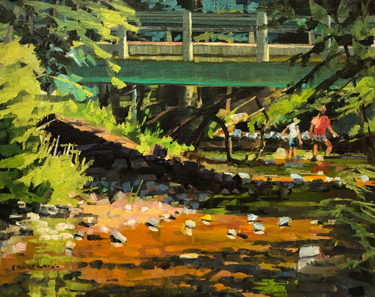 Stream Walking by Elaine Lisle