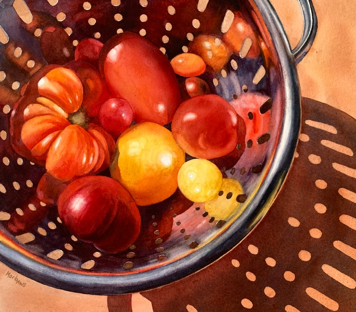 Tomato Season by Marla Greenfield