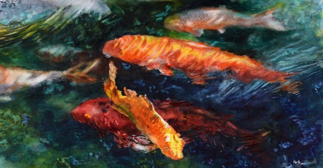 Koi by Marla Greenfield