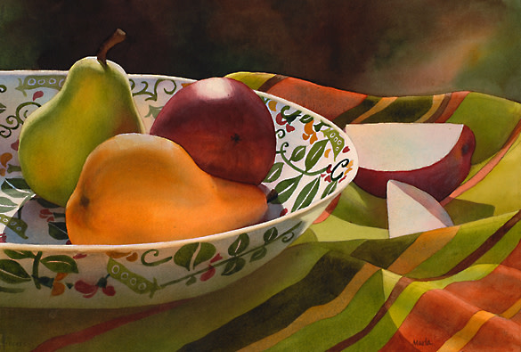 Pearspectives II by Marla Greenfield