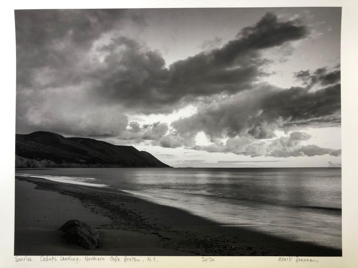 Sunrise Cabots Landing, Northern Cape Breton, NS by Mark Brennan