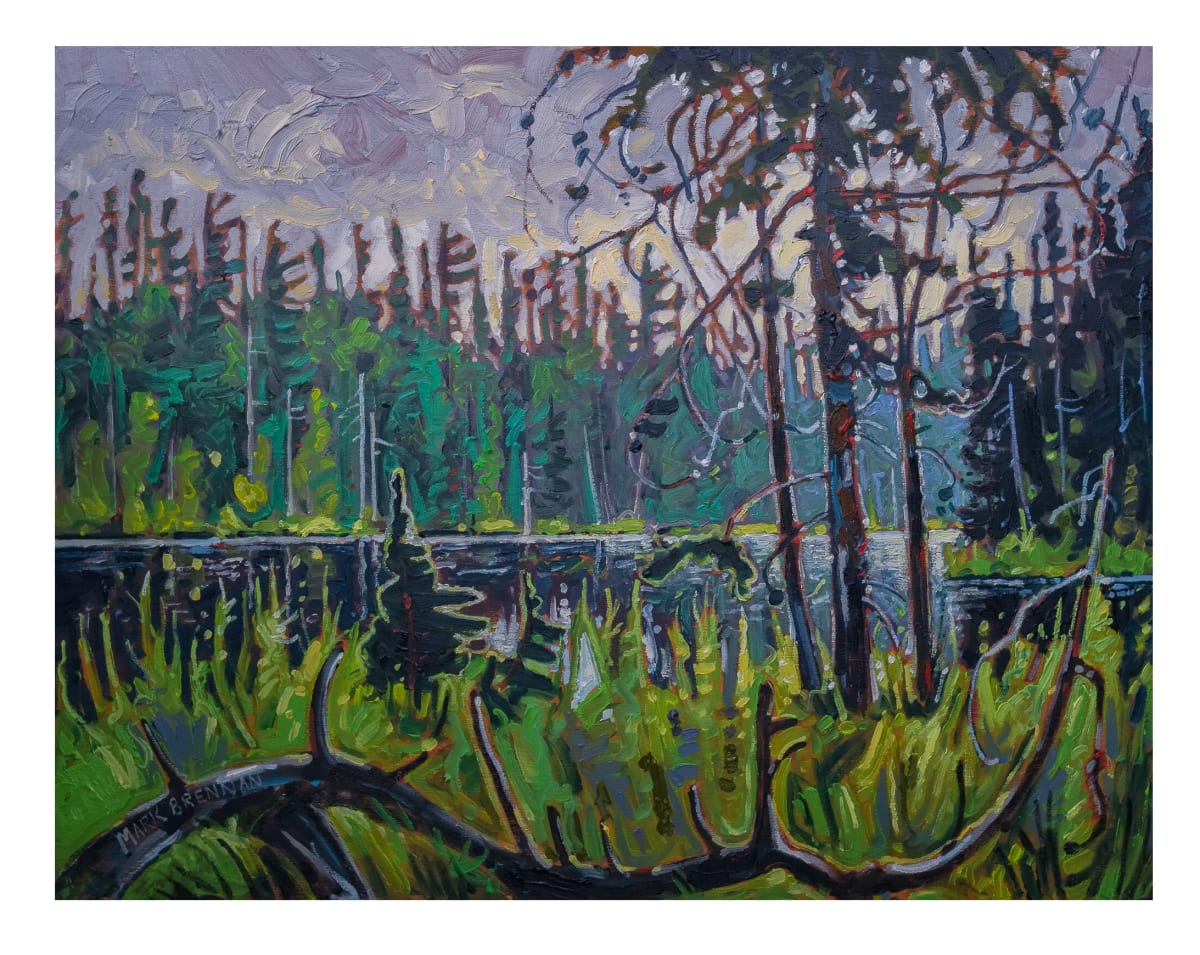 Summer Lake, Perch Lake, Upper Stewiacke River, Nova Scotia by Mark Brennan