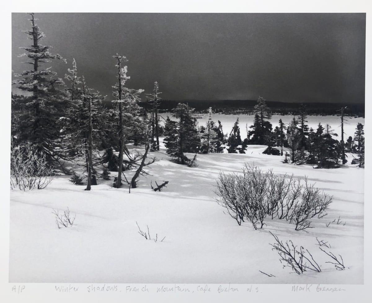 Winter Shadows, French Mountain, Cape Breton, NS