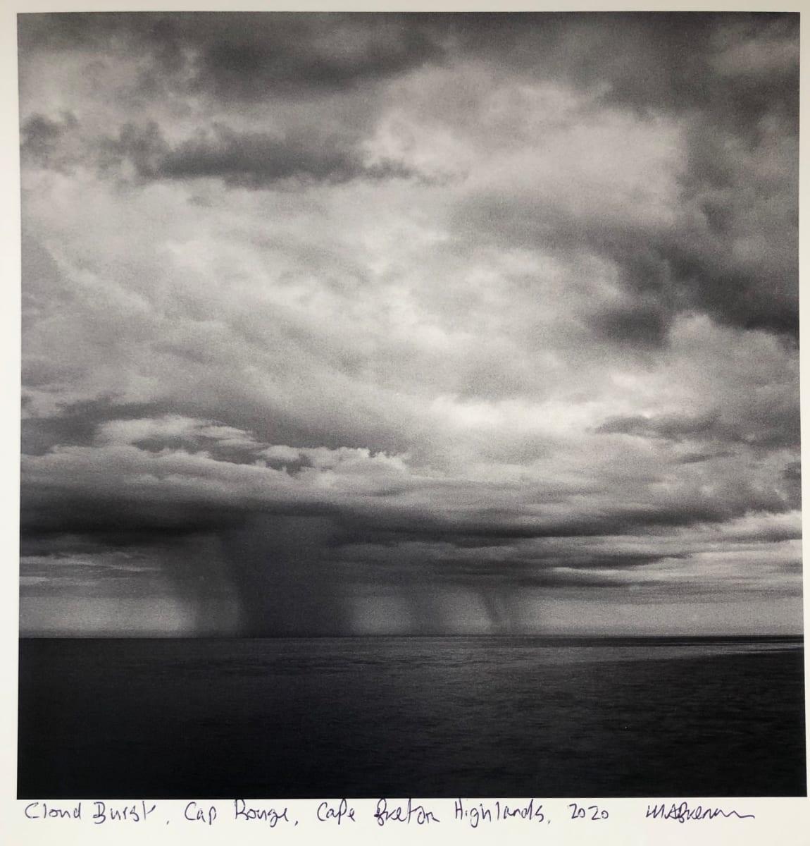 Cloud Burst, Cap Rouge, Cape Breton Highlands by Mark Brennan