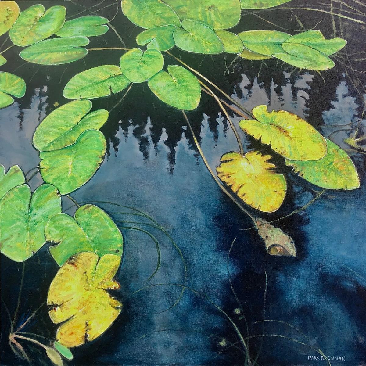 Late Summer Lilies by Mark Brennan
