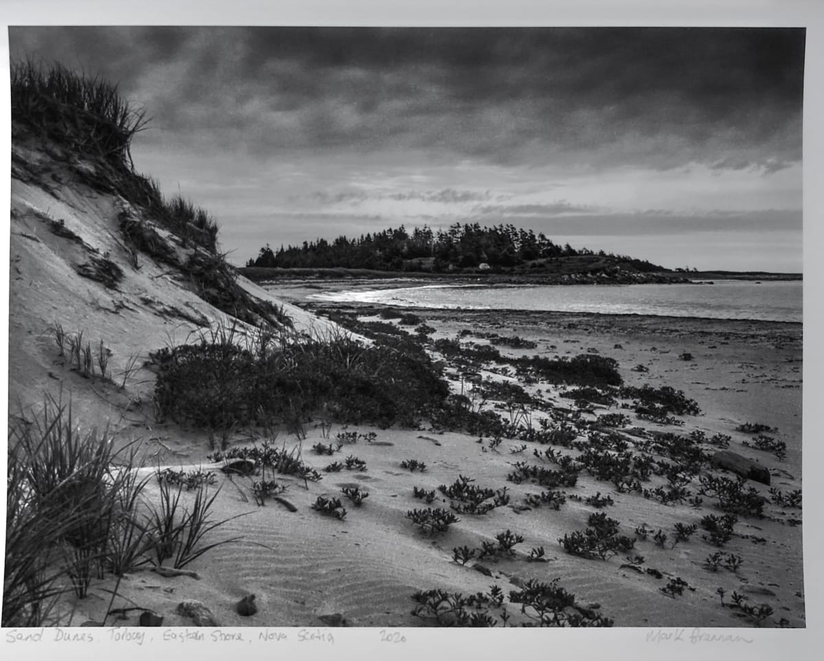 Sand Dunes Torbay, Eastern Shore, Nova Scotia by Mark Brennan