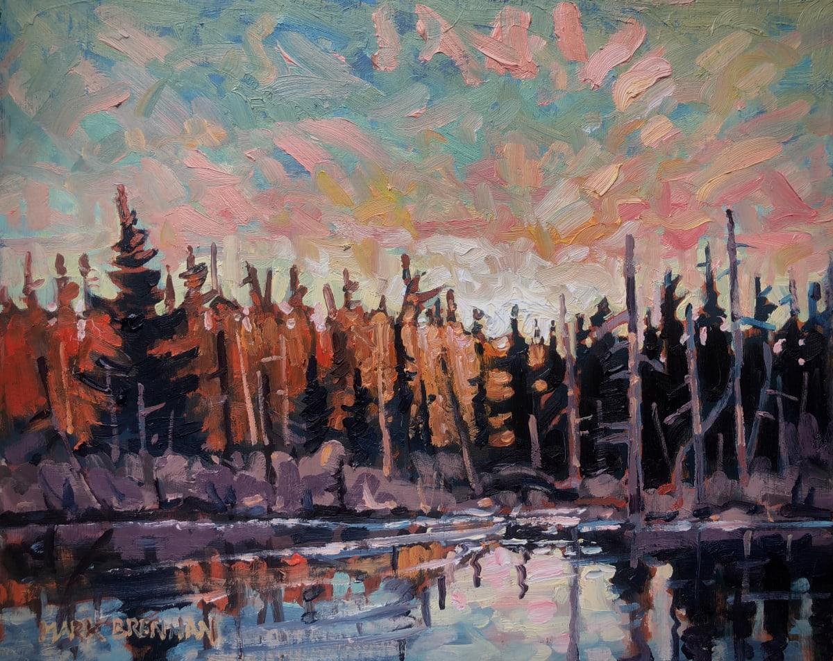 Beaver Dam Sunrise, Cox Brook Road by Mark Brennan