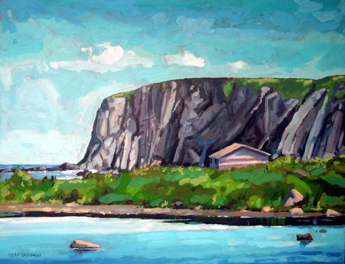 Cove Near Cape Onion, Northern Newfoundland by Mark Brennan