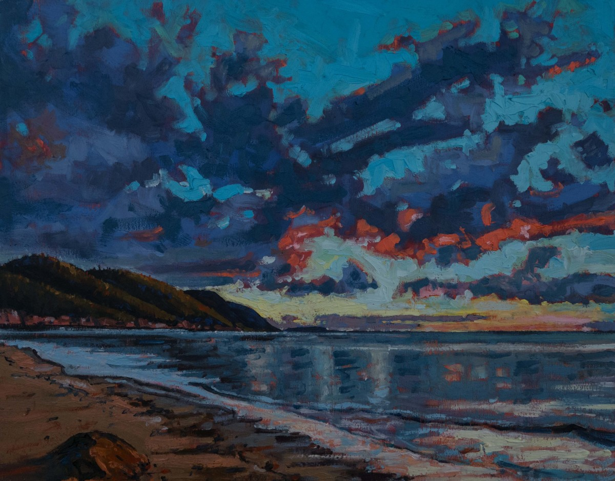 Dawn Sky, Cabots Landing, Nova Scotia by Mark Brennan