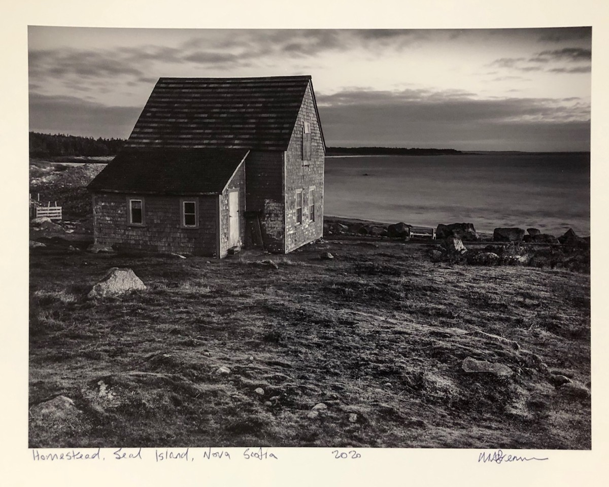 Homestead, Seal Island, Nova Scotia by Mark Brennan