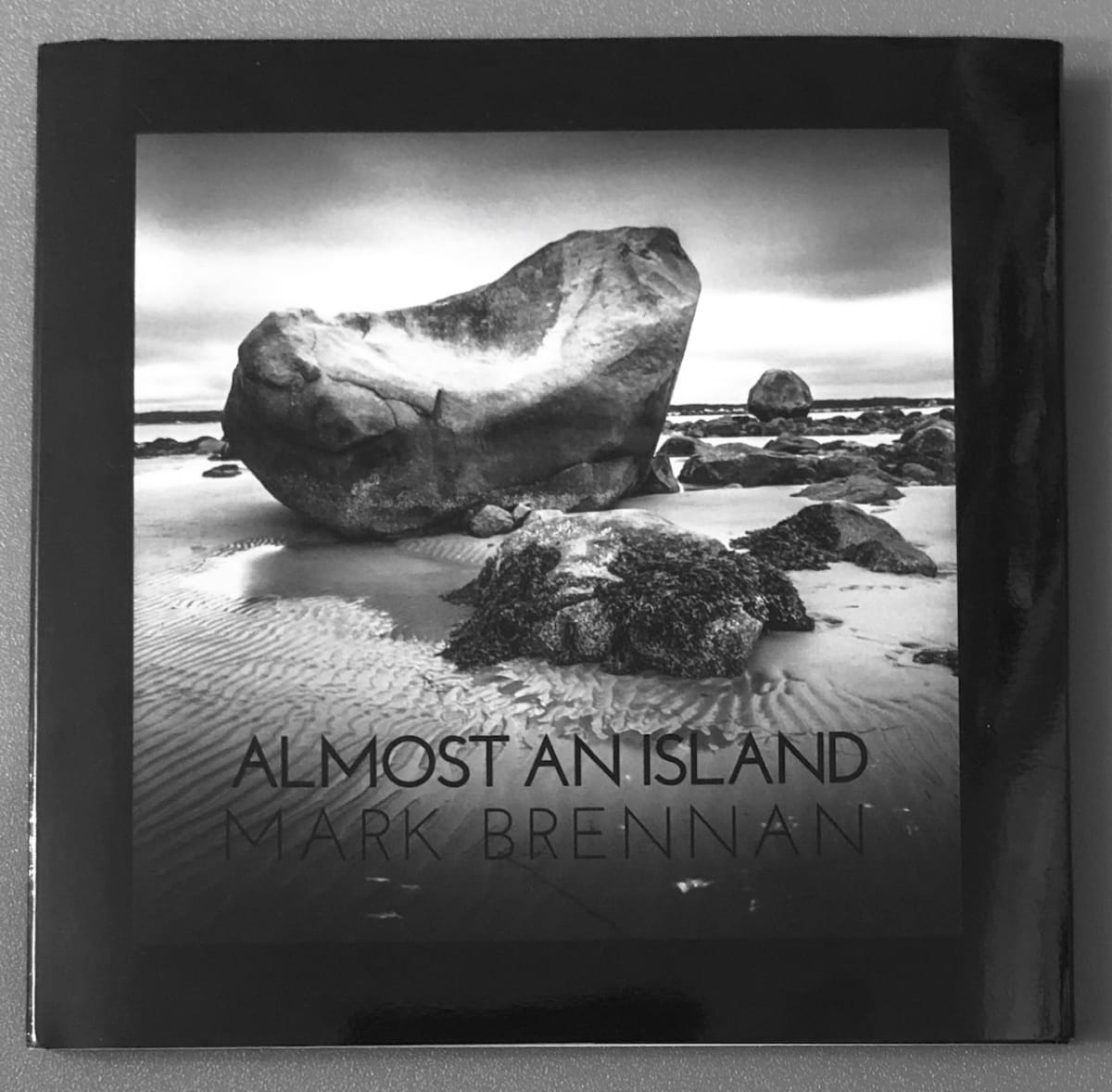 SOLD OUT Almost An Island, Limited Edition Book by Mark Brennan