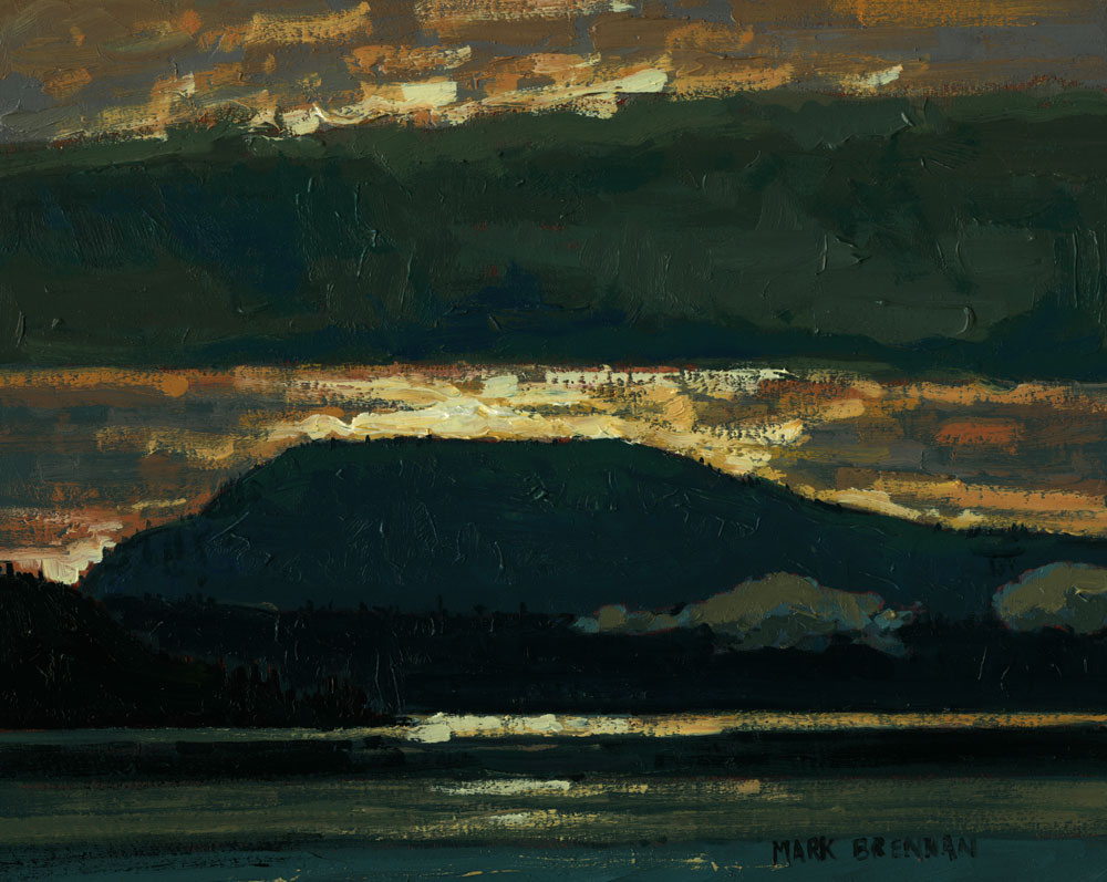 Layers, Coastal Vancouver Island by Mark Brennan