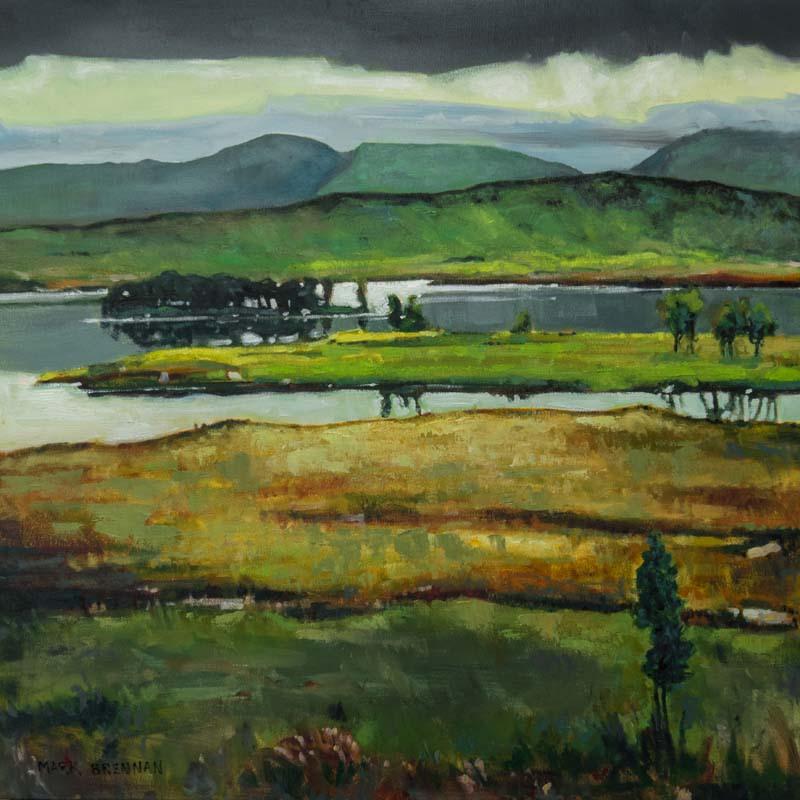 Light On Rannoch Moor, Glen Coe, Scotland by Mark Brennan