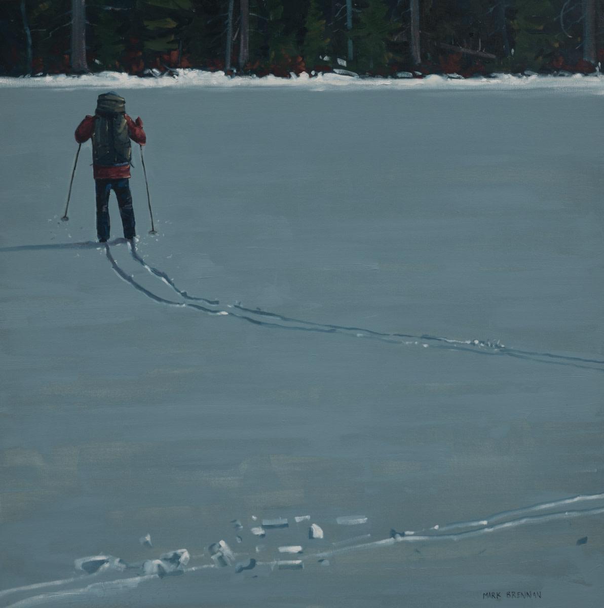 Lake Crossing by Mark Brennan