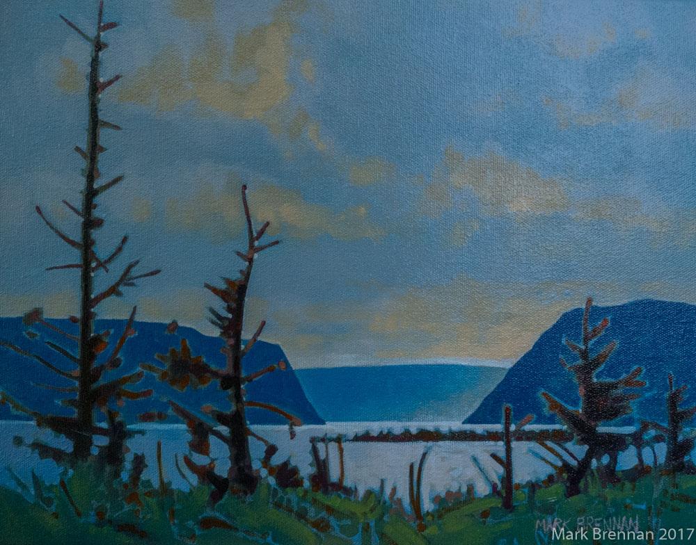 Morning, Western Brook Pond, Newfoundland by Mark Brennan