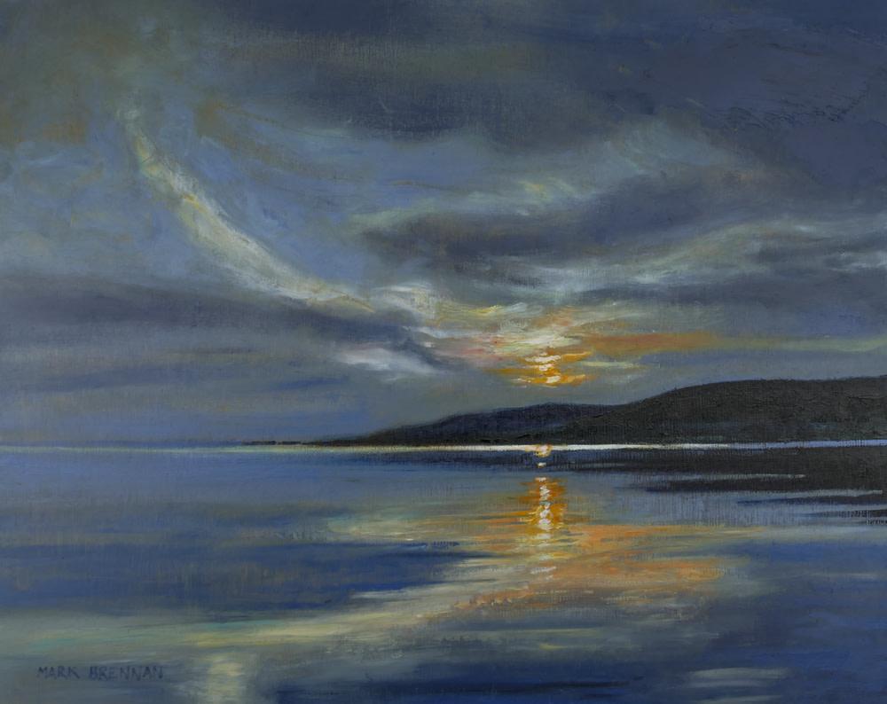 Sunrise Near Dundee, Bras d'or Lakes, Cape Breton, Nova Scotia by Mark Brennan