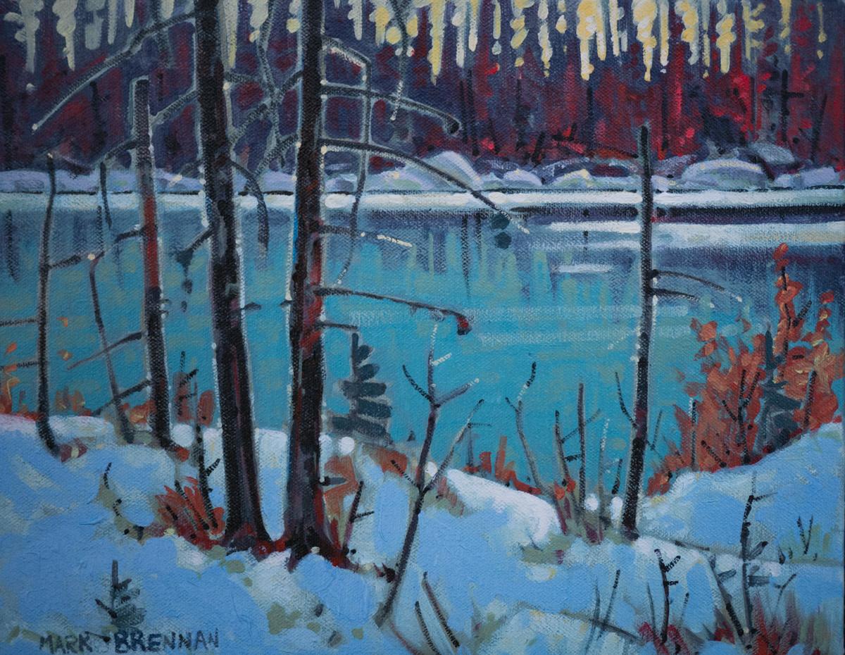 Winter Cove, Liscomb River, Nova Scotia by Mark Brennan