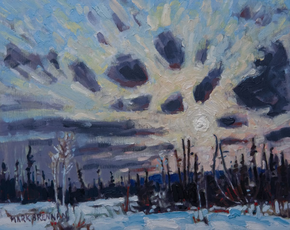 Winter Solstice Eve, Whitehill, NS by Mark Brennan