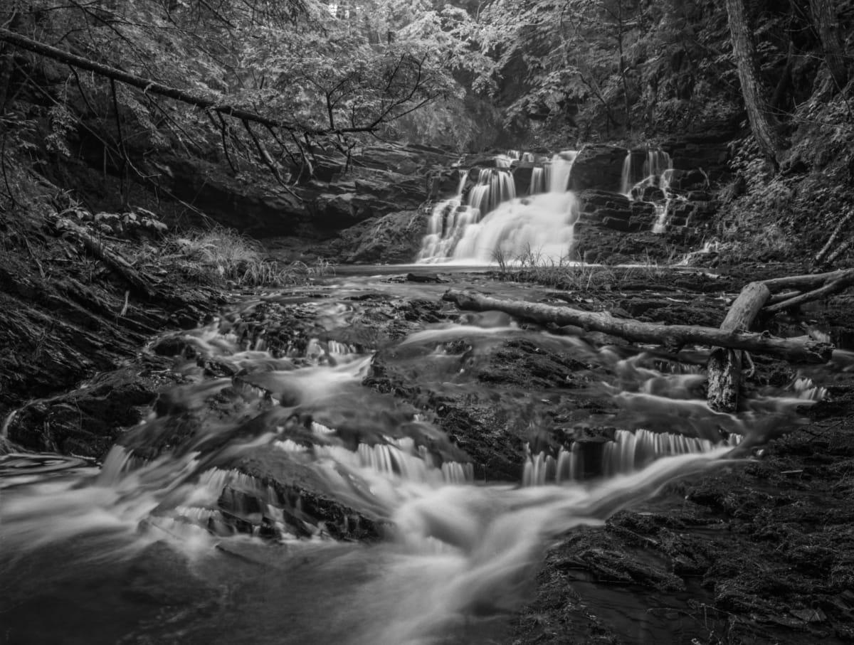 Hidden Falls, Northern Nova Scotia by Mark Brennan