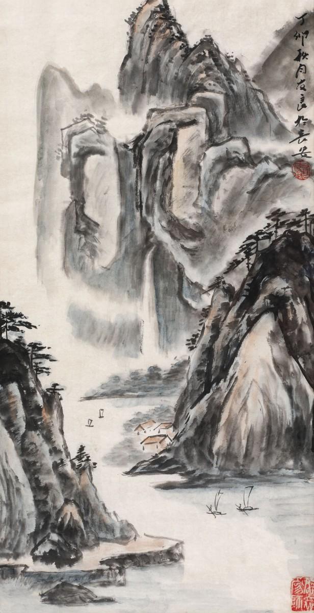 Waterfall near Xi'an by Liang You