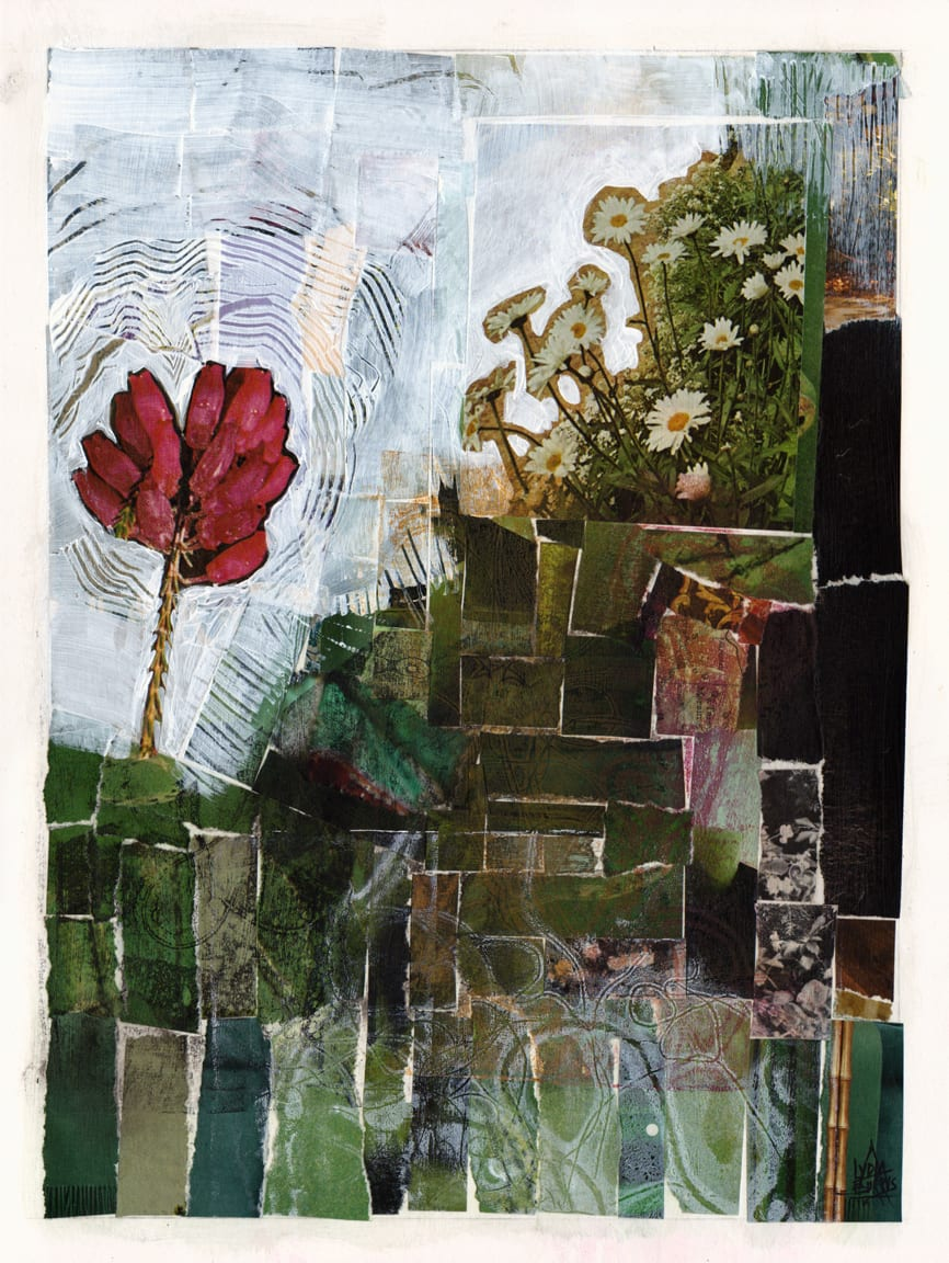 Flowers and Earth and Good Green Mirth by Lydia Burris