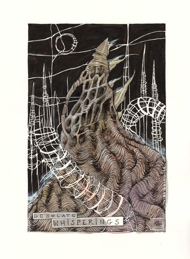Desolate Whisperings by Lydia Burris