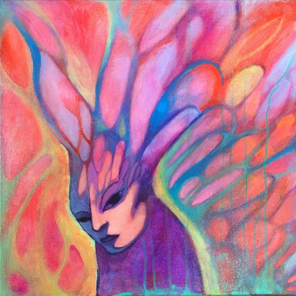 Pink Ethereal by Lydia Burris