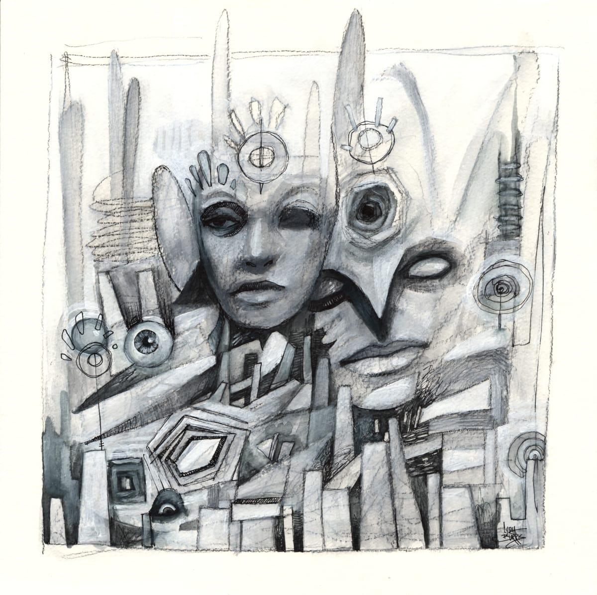 The Architect's Spirit Dream by Lydia Burris